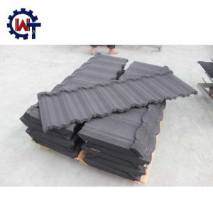 2017 High-End Colorful Stone Coated Metal Shingle Roof Tile pictures & photos