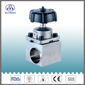 Stainless Steel Three-Way Welded Diaphragm Valve pictures & photos