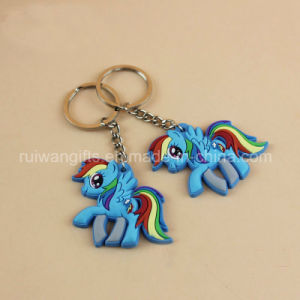 Fish Design Eco-Friendly Plastic Keychain for Promotional pictures & photos