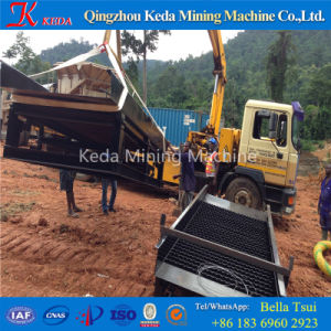 China Gold Trommel Screen Gold Mining Machine (KDTJ-200) pictures & photos