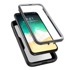 finest selection e2350 d713d I-Blason for iPhone X Case, [Heavy Duty Protection] Full Body Case, Screen  Protector