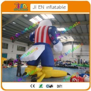 20FT/6m Giant Inflatable, Eagle USA Cartoon, Cheap Inflatable Outdoor Advertising Cartoon for Sale pictures & photos