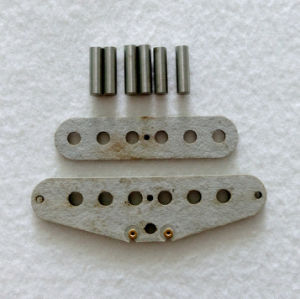 Stagger AlNiCo 2 Gray Flatwork Strat Guitar Pickup Kits pictures & photos