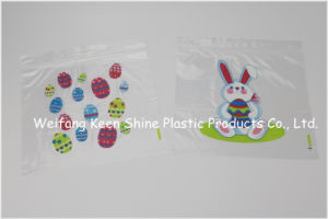 Printed Plastic Zipper Bags for Household Use pictures & photos