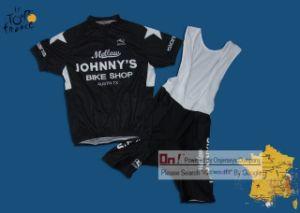 China Mellow Johnny′s Bike Black Cycling Jersey and Bib Shorts Set ... 182e0c738