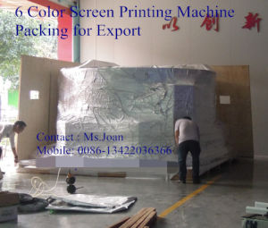 5 Color Glass Screen Printing Machine/Bottle Screen Printer pictures & photos