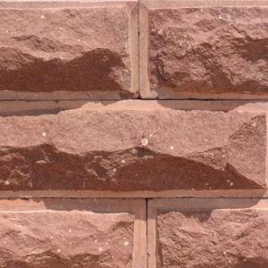 China Pink Wall Stone Veneer Decor