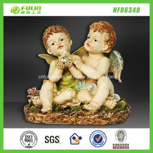 Handicrafts Wing Babies Resin Angel Figurine (NF86340)