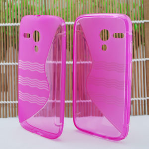 Cell Phone TPU Case with S Style for Alcatel OT3035