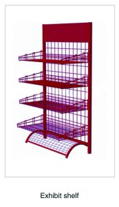 Supermarket Rack Store Display Supermarket Shelf Exhibition Stand (SLL-V008) pictures & photos
