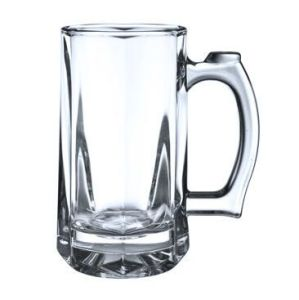 Transparent Glass Beer Cup with Handle Good Price Glassware Sdy-L008