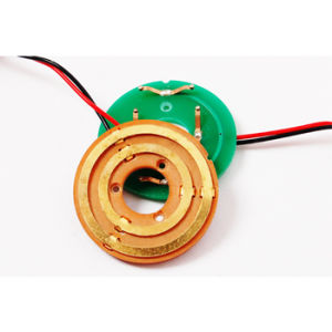 Big Capacitance Flat Slip Rings with 2 Circuit Signals (LPKS013-02S)