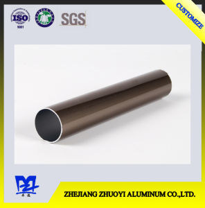 Aluminum Alloy Tubes with Electrophoresis Surface Treatment pictures & photos