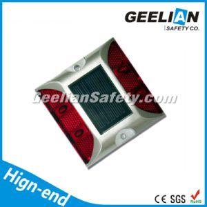 Red LED Light Aluminum LED Solar Powered Red Road Reflectors
