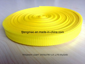 "1"" Yellow PP Webbing for Bags"