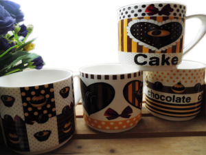 11 Oz Ceramic Mug with Cute Pattern pictures & photos