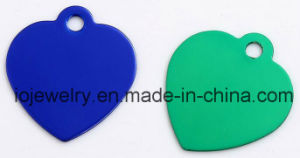 Cheap Uluminium Jewelry Different Color Plated Bone Dog Tags pictures & photos