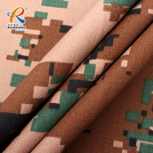 Forest Camouflage Printed Fabric Wholesale with Different Style