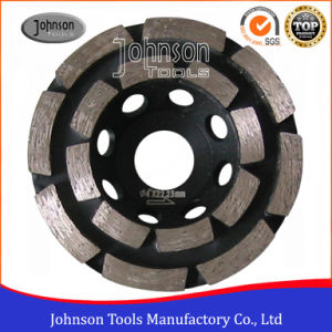 105mm Double Row Cup Grinding Wheel for Stone pictures & photos