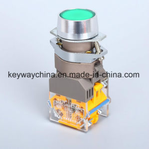 Illuminated Keyway Push Button Switch with Ce/CB/CCC pictures & photos