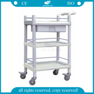AG-Uta07 Plastic Hospital Movable Utility Medical Cart Price pictures & photos