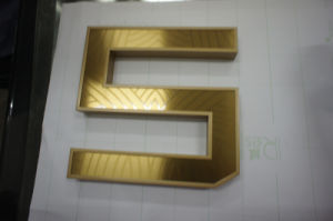 Reatil Number Shape 3D Metal Painted LED Channel Letters pictures & photos