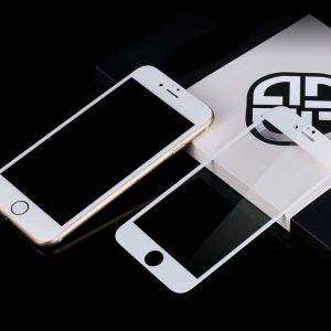 Silk-Screen Printing Full Covered Anti Scratch Screen Protector for iPhone 7/7 Plus