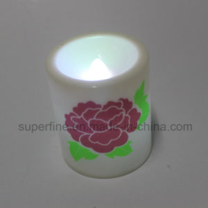 Environmental Protection Home Decoration Plastic LED Candles pictures & photos