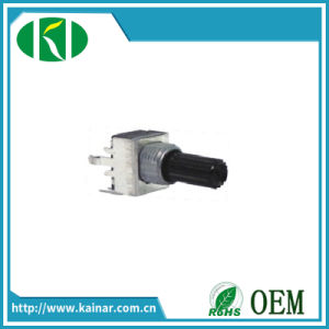B5k 10k 50k 100k 9 mm Size Rotary Potentiometer Wh9011-1c pictures & photos