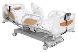 Hospital Bed Five-Function Electric Sickbed (AM-99602) pictures & photos