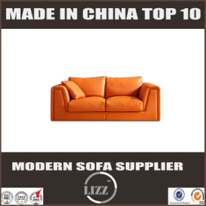 Living Room Furniture Which Best Sale in Australia Feather Leather Sofa pictures & photos