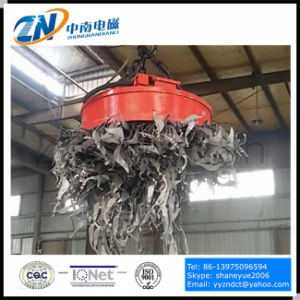 Circular Lifting Magnet for Steel Scrap Lifting with 75% Duty Cycle MW5-80L/1-75 pictures & photos