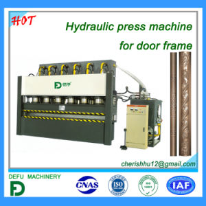 China Lizhou Brand Embossing Machine Used For Door Frame China