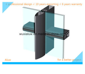 Envirmental Protection Semi-Invisible Curtain Wall