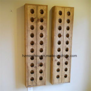 Decorative French Wine Riddling Rack 4 Cloums 40 Bottle