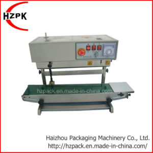 Vertical Automatic Continuous  Sealer Sealing Machine Fr-450 pictures & photos