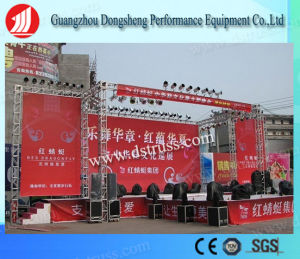 Music Festival Aluminum Concert Stage Truss System LED Screen Hanging Structure