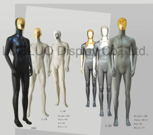 ODM Chaneable Chrome Face Male Mannequin for Store Dress