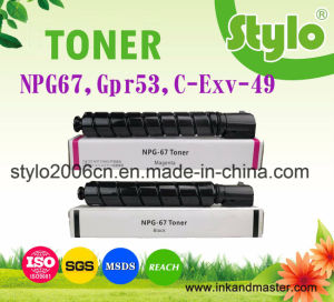 Npg67/C-Exv-49/Gpr53 Laser Printer Toner for Canon, Toner Cartridge for Canon pictures & photos