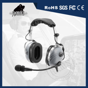 Pnr Aviation Headset with Flexible Boom pictures & photos