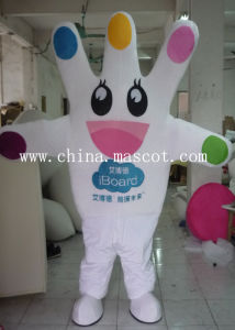 Five Fingers Mountain Mascot Costume