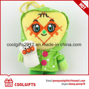 Wholesale Cartoon Soft Stuffed Plush Toy with Kechain pictures & photos