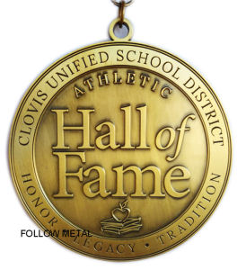 Award Medal for Clovis Unified School District, Hall of Fame