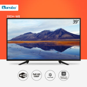 39-Inch Low Power Consumption Smart TV for Home/Hotel 39dh-W8