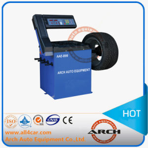 High Quality Tire Wheel Balancer (AAE-B99G) pictures & photos