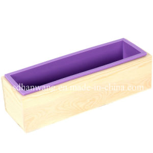China Wooden Soap Mold With Silicone Liner D0018 Diy Swirl Soap