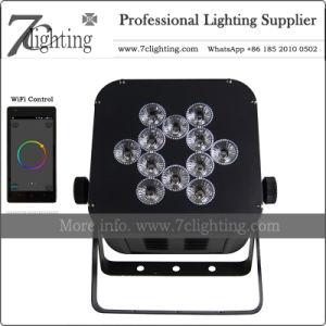 Wireless Uplighting Battery DMX Flat PAR Stage Lighting & China Wireless Uplighting Battery DMX Flat PAR Stage Lighting ...