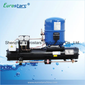 Water Cooling High Efficiency Open Type Condensing Unit with Danfoss Compressor pictures & photos