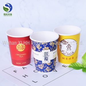 china green tea inside wholesale disposable paper tea cup for