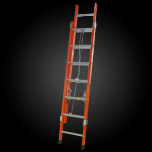 High Strength Insulated Fiberglass Telescopic Rope Ladder pictures & photos
